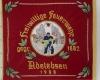 Gestickte Fahne der Feuerwehr Adelebsen von Fahnen-Kreisel