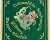 Gestickte Fahne für Linksemliche Schützengilde St Georg von Fahnen-Kreisel