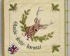 Gestickte Fahne für Schützenverein_Glaube Sitte Heimat von Fahnen-Kreisel