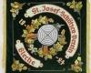 Gestickte Fahne für St Josef Schützenverein Bleche von Fahnen-Kreisel