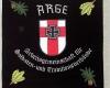 Gestickte Vereinsfahne für Kameradschaft Arge Hohenzollern von Fahnen-Kreisel