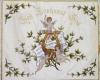 Gestickte Fahne für den Männerchor Lambsheim - Rückseite - von Fahnen-Kreisel