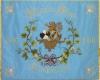 Gestickte Fahne für den Männerchor Lambsheim - Vorderseite - von Fahnen-Kreisel