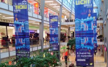 Innen Deko-Banner ECE-Center Schlosslichtspiele Karlsruhe
